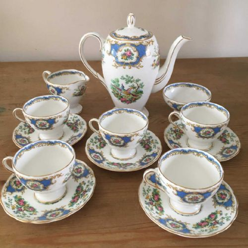 Foley - Broadway - Coffee Set -  Chelsea  Bird - 40s 50s